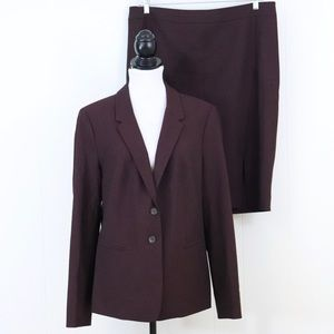 The Limited skirt blazer suit set 16 Tall plus 16